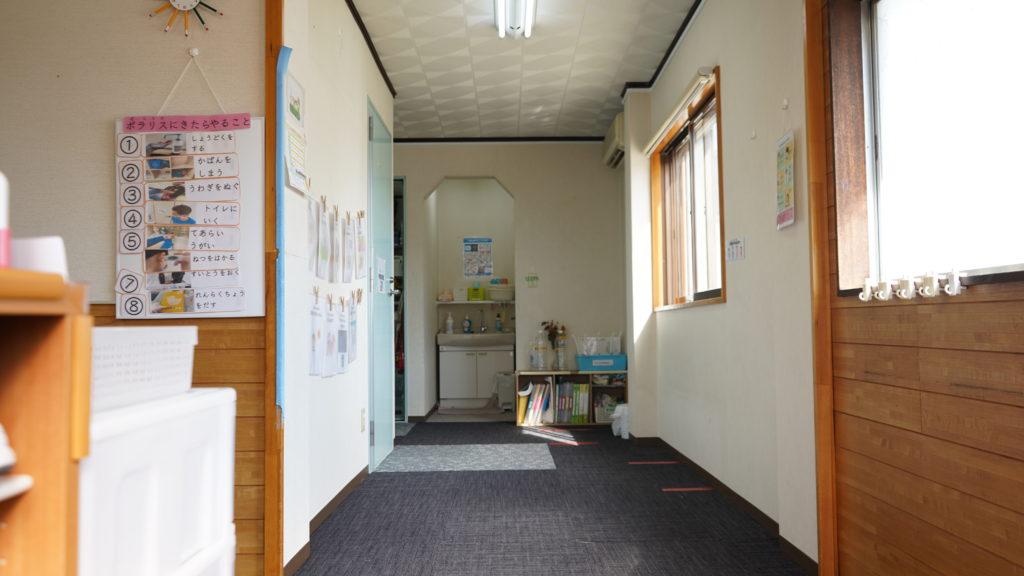 Polaris(ポラリス)若林教室廊下