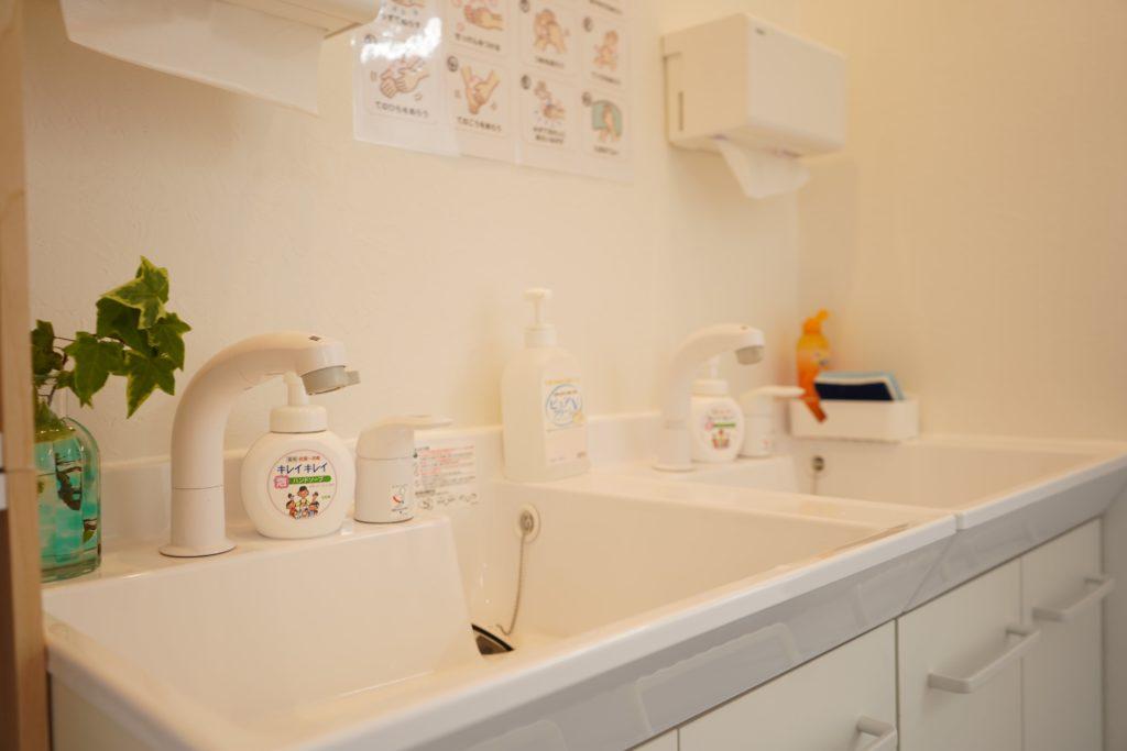 豊田南教室手洗い場
